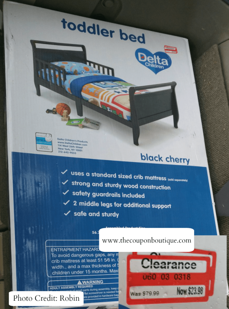 Target Clearance Toddler Bed