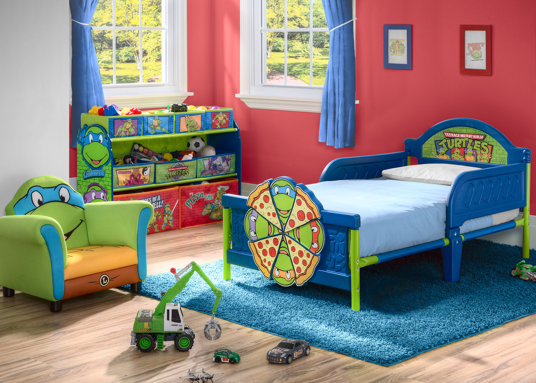 Teenage Mutant Ninja Turtles Toddler Bed