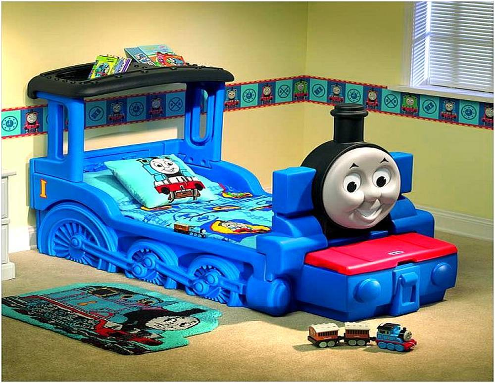 Thomas The Train Toddler Bed Set Walmart
