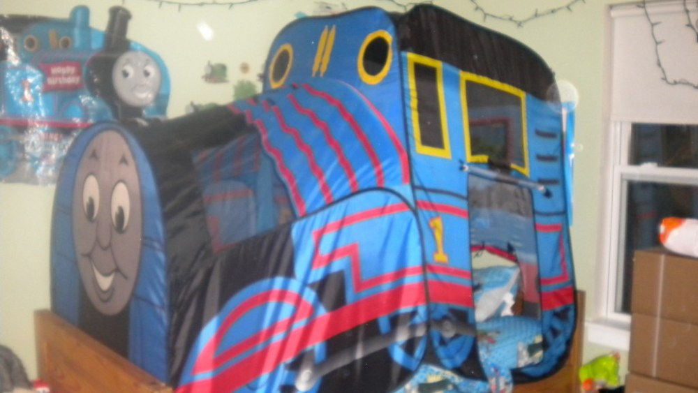 Thomas The Train Toddler Bed With Storage