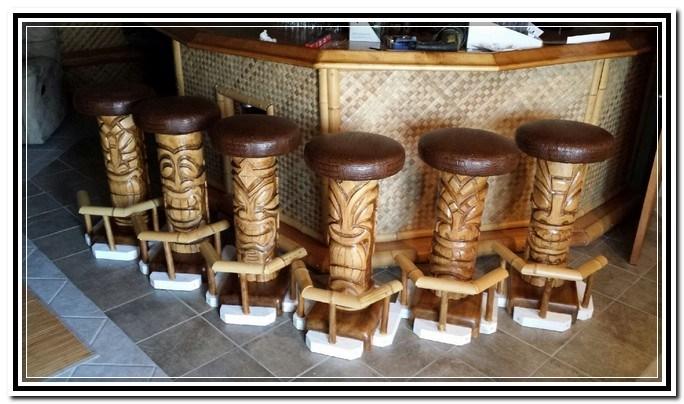 Tiki Bar Stools For Sale
