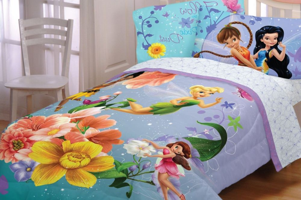 Tinkerbell Toddler Bed Comforter