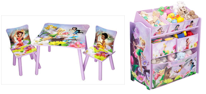 Tinkerbell Toddler Bed In A Box