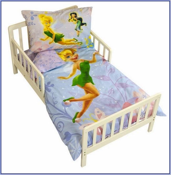 Tinkerbell Toddler Bed Set