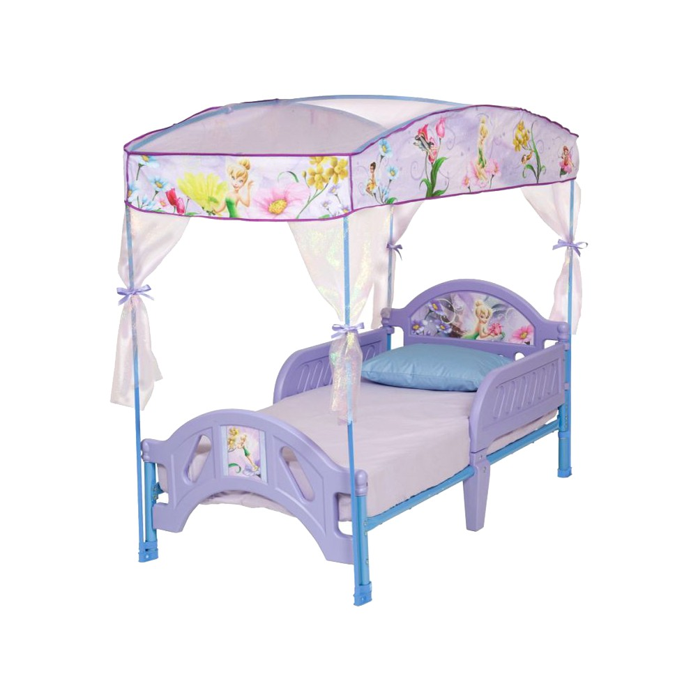 Tinkerbell Toddler Bed With Canopy