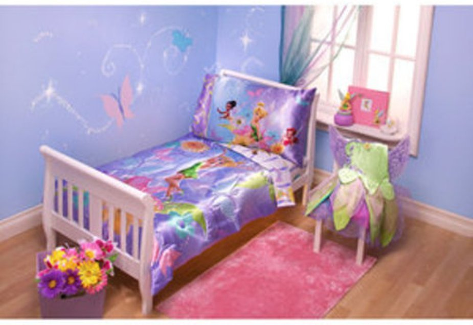 Tinkerbell Toddler Bedding