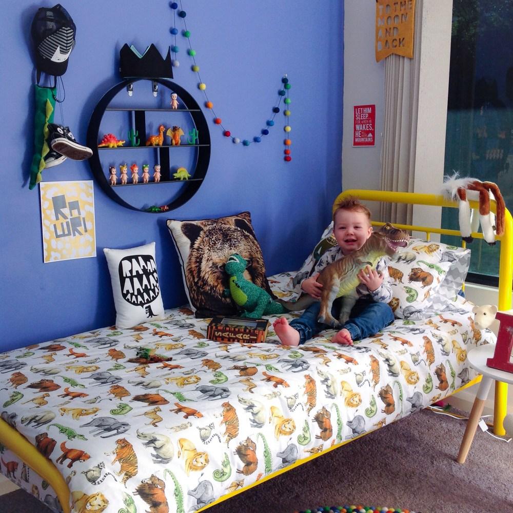 Tmnt Toddler Bed Set