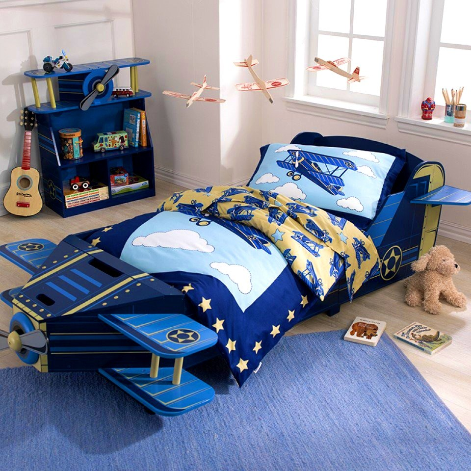 Toddler Airplane Bed Frame