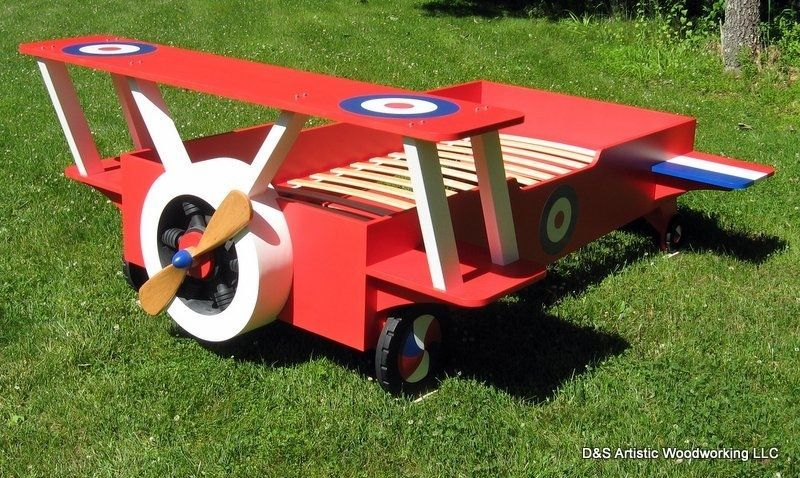 Toddler Airplane Bed