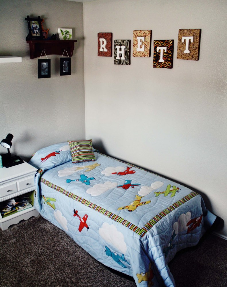 Toddler Airplane Bedroom Ideas