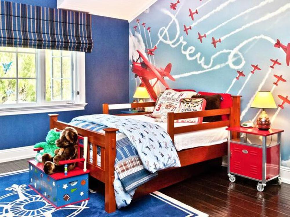 Toddler Airplane Bedroom