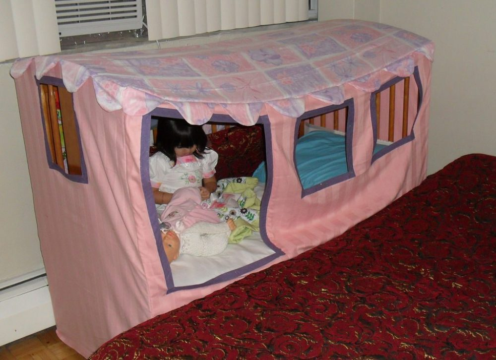 Toddler Bed Canopy Tent