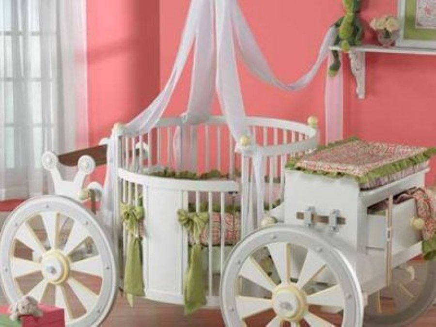 Toddler Bed Carriage