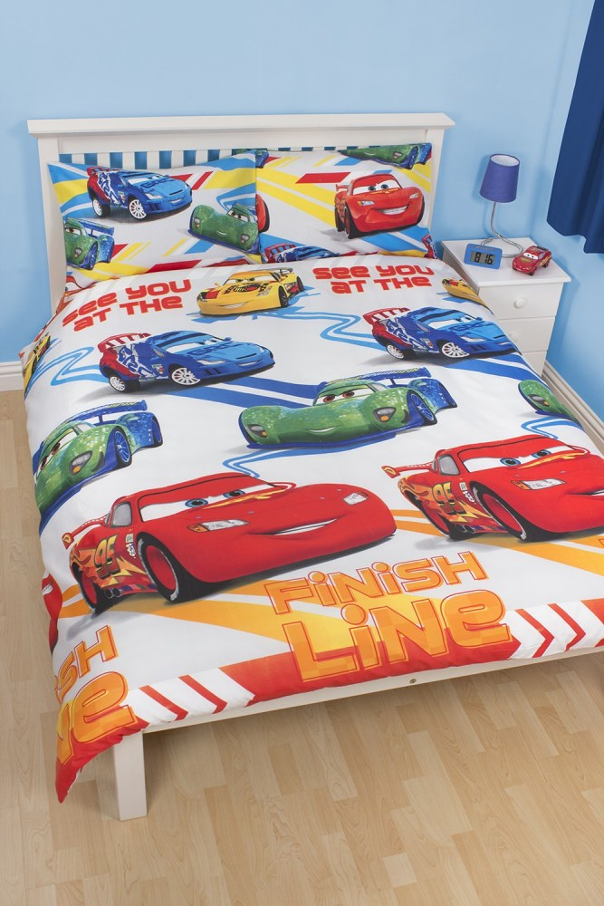 Toddler Bed Cars Duvet