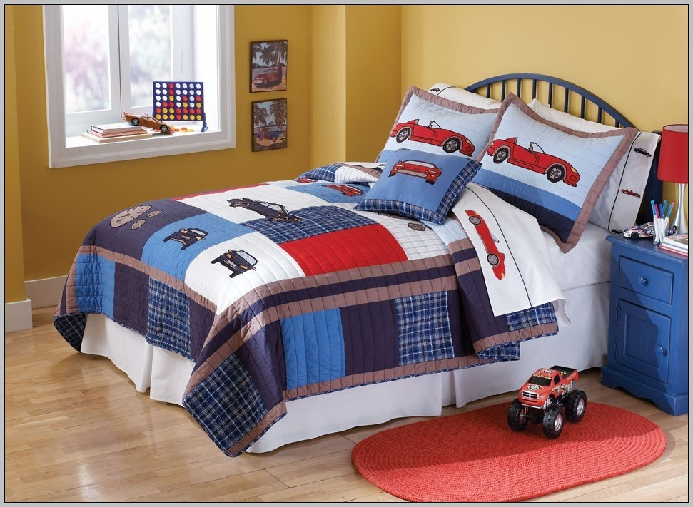 Toddler Bed Comforter Boy