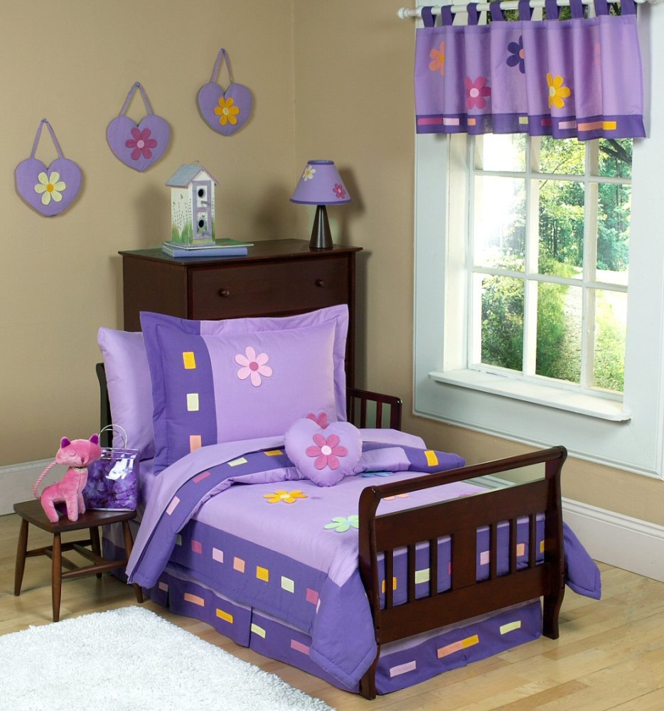 Toddler Bed Comforter Girl