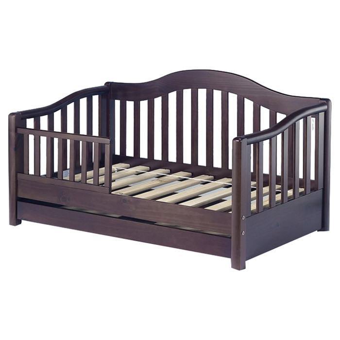 Toddler Bed Espresso Finish