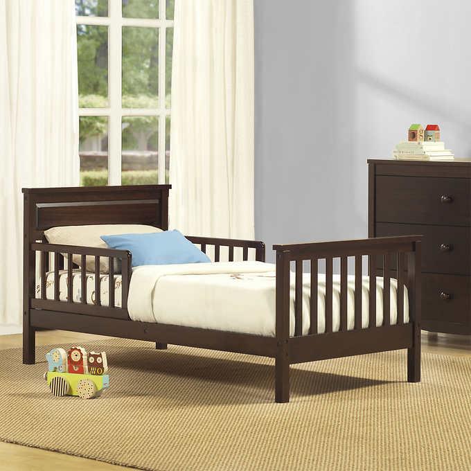 Toddler Bed Espresso