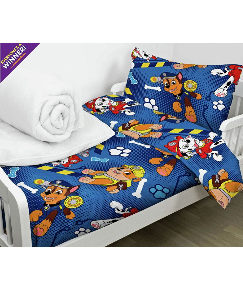 Toddler Bed In A Bag Paw Patrol