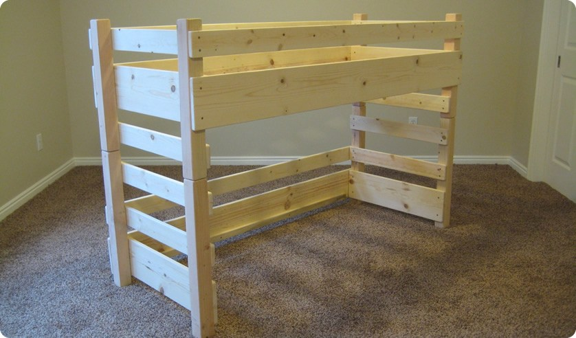 Toddler Bed Loft