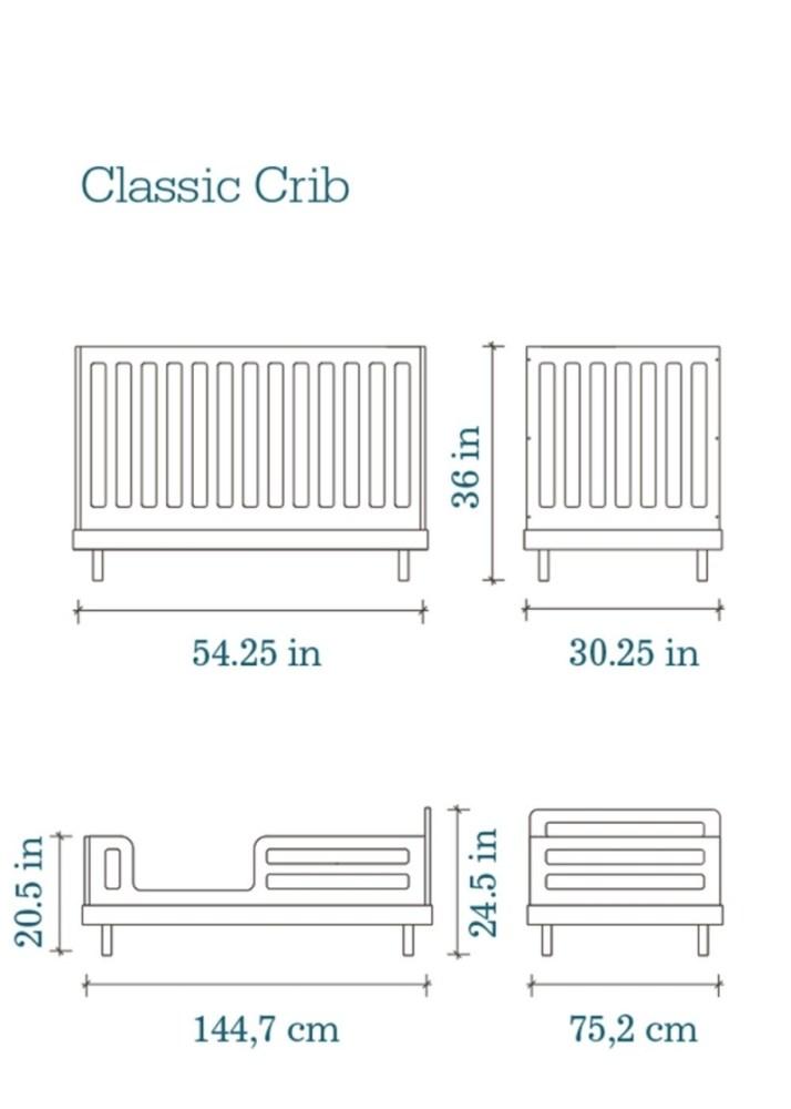 Toddler Bed Measurements Cm