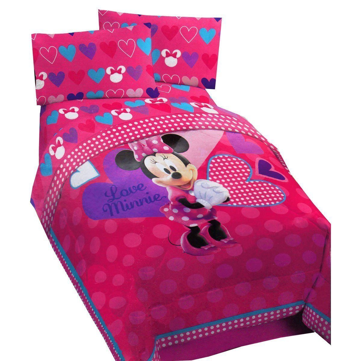 Toddler Bed Minnie Mouse Comforter