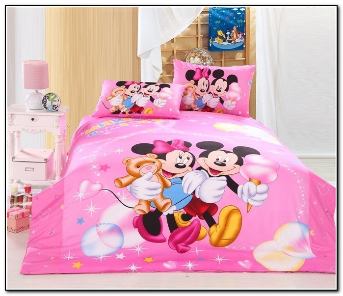 Toddler Bed Minnie Mouse Sheets