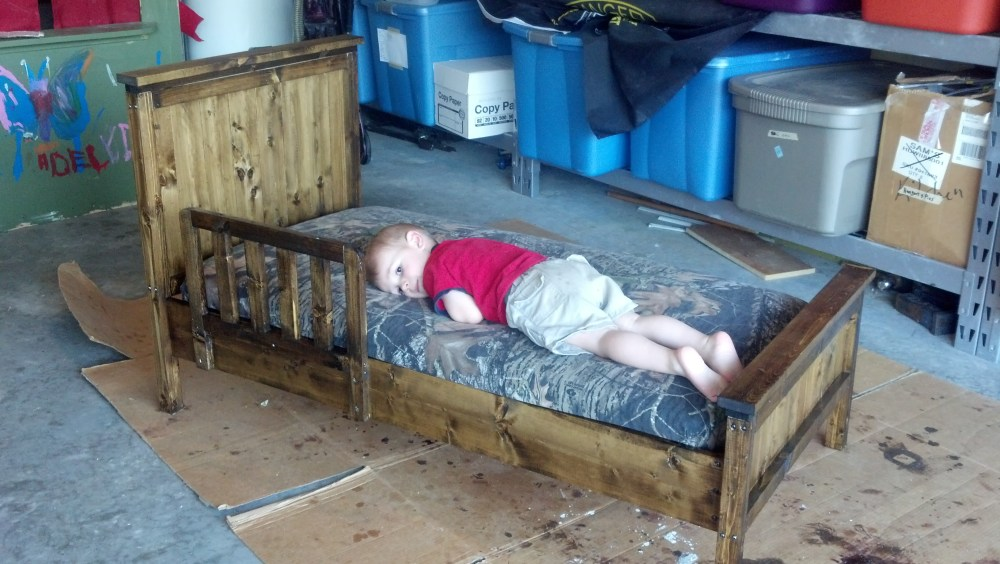 Toddler Bed Plans Free