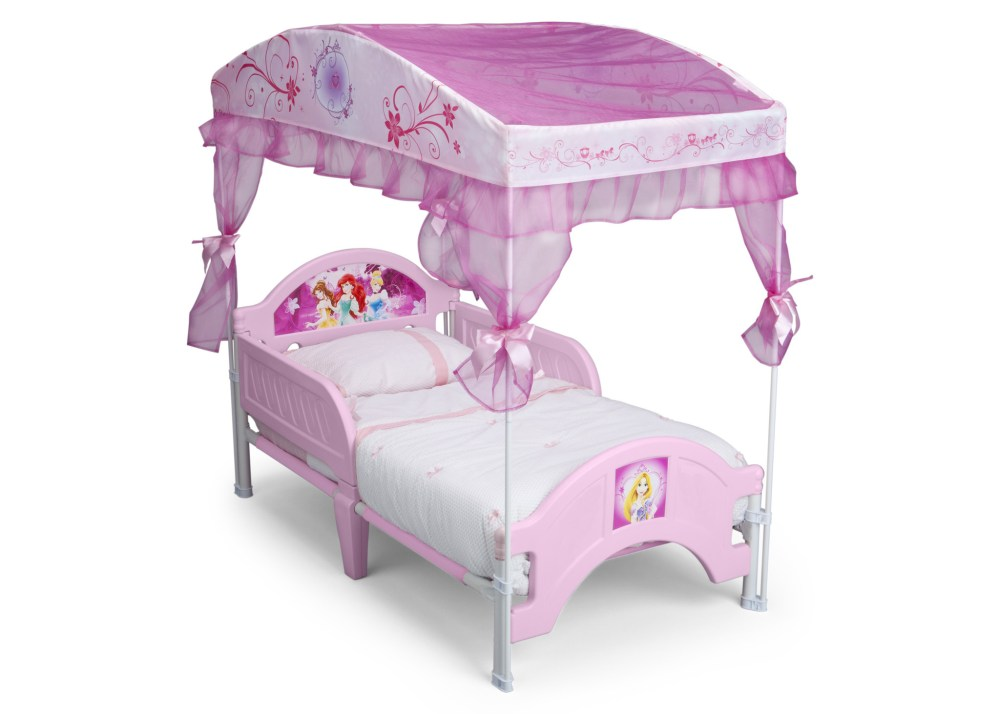 Toddler Bed Princess Canopy