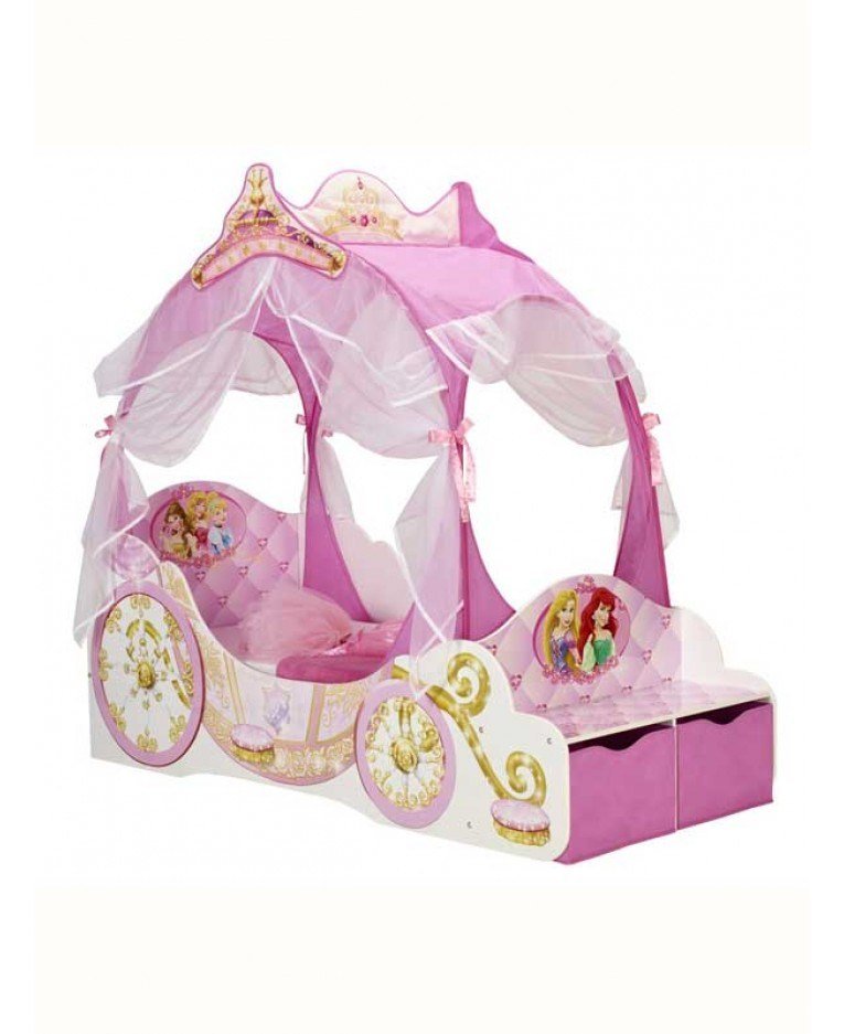 Toddler Bed Princess Carriage