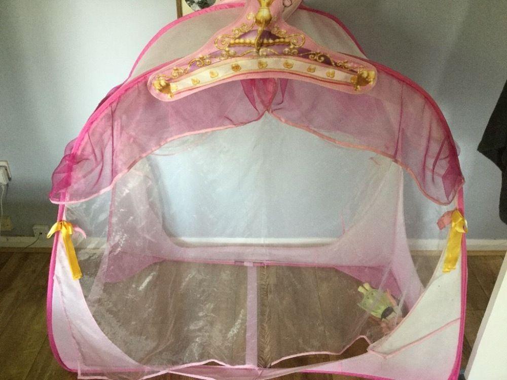 Toddler Bed Princess Tent