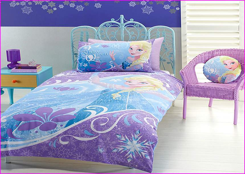 Toddler Bed Set Frozen