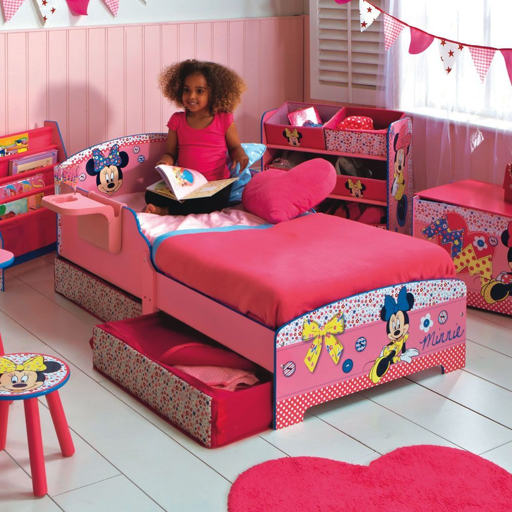 Toddler Bed Set Minnie Mouse