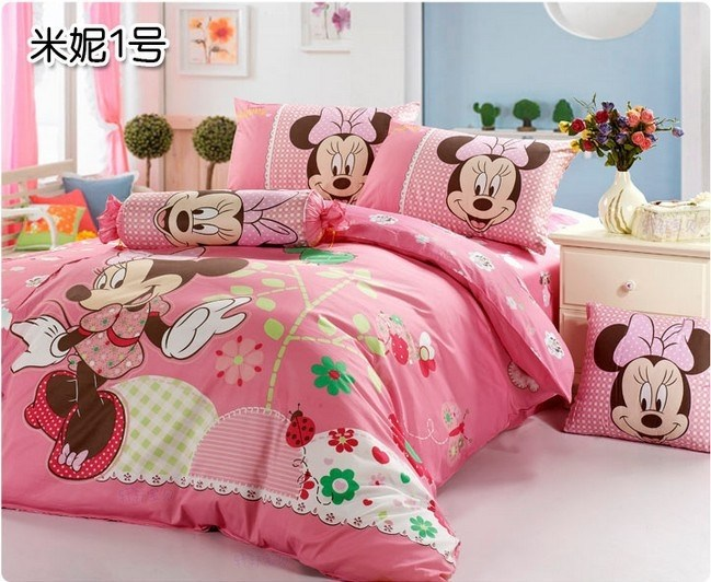 Toddler Bed Sheet Set Minnie Mouse