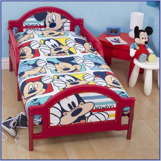 Toddler Bed Sheets Mickey Mouse