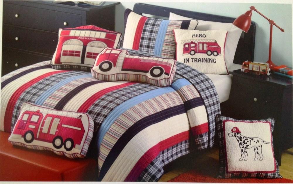 Toddler Bed Sheets Trucks