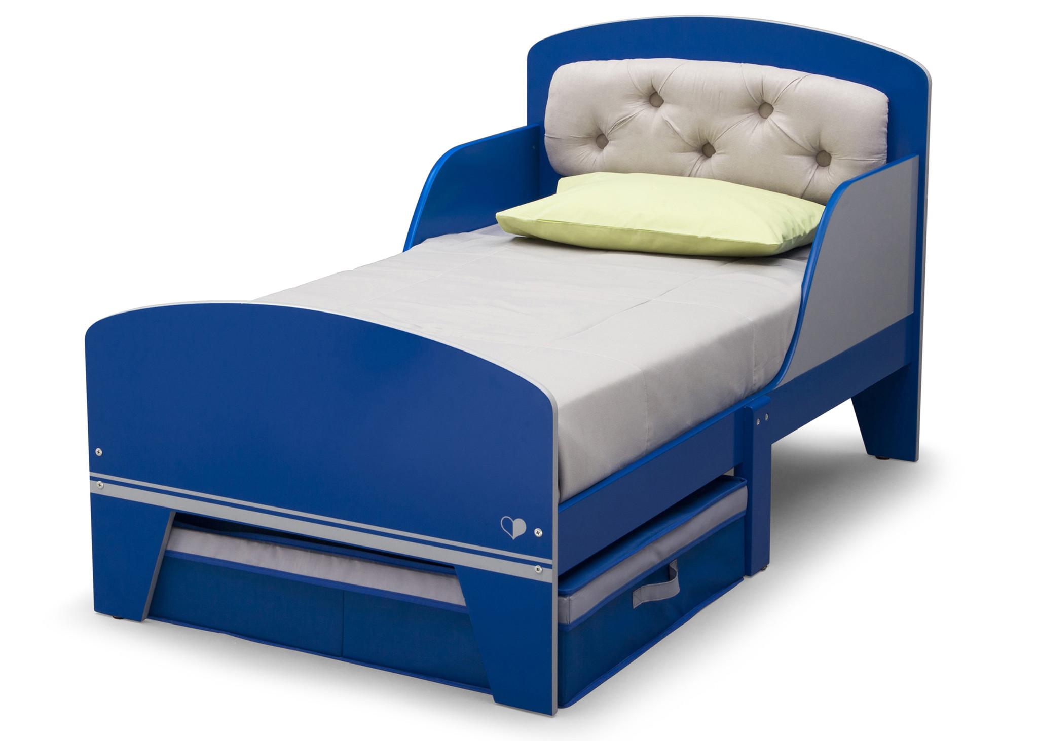 Toddler Bed Upholstered Headboard