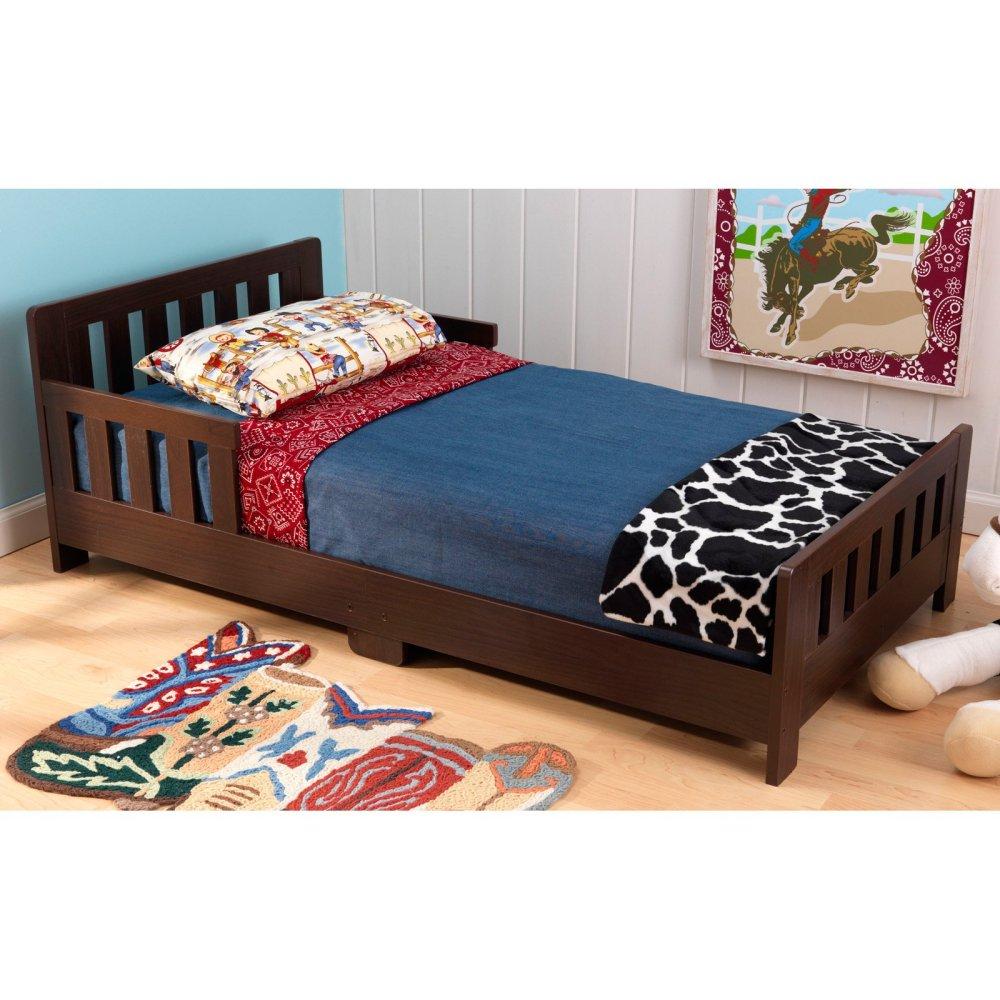 Toddler Bed Walmart Espresso