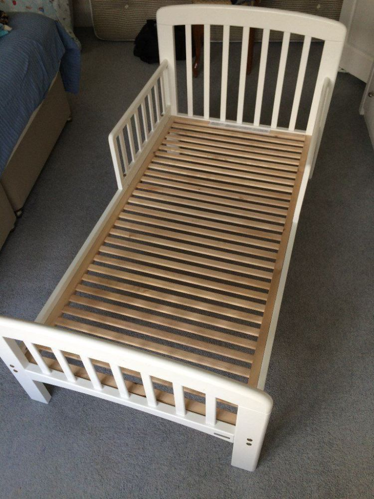 Toddler Bed With No Rails