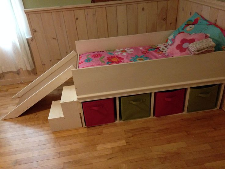Toddler Bed With Slide Diy