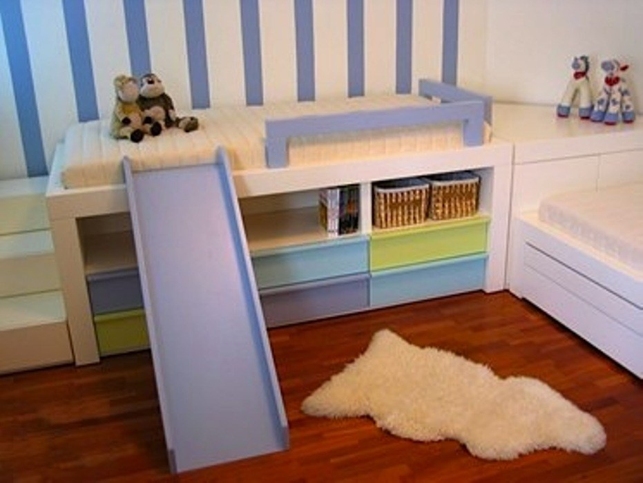 Toddler Bed With Slide