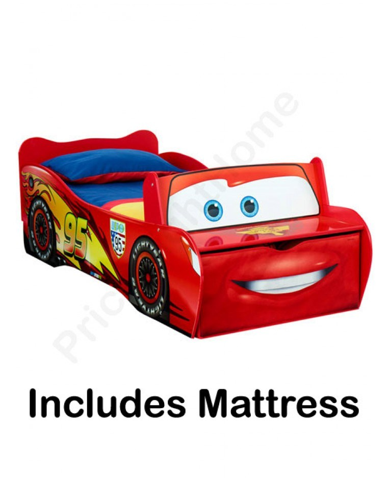 Toddler Bed With Storage And Mattress