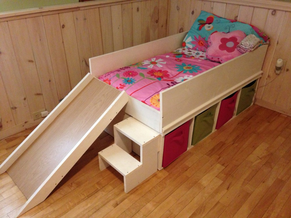 Toddler Bed With Storage