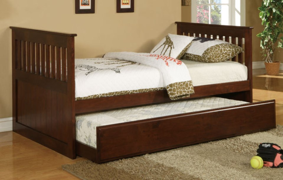 Toddler Bed With Trundle And Storage
