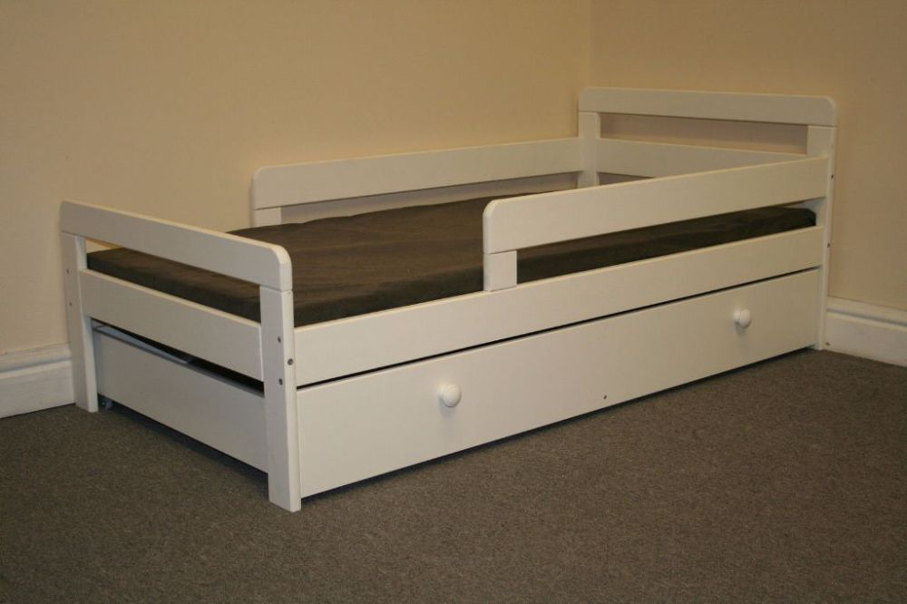 Toddler Bed With Under Storage