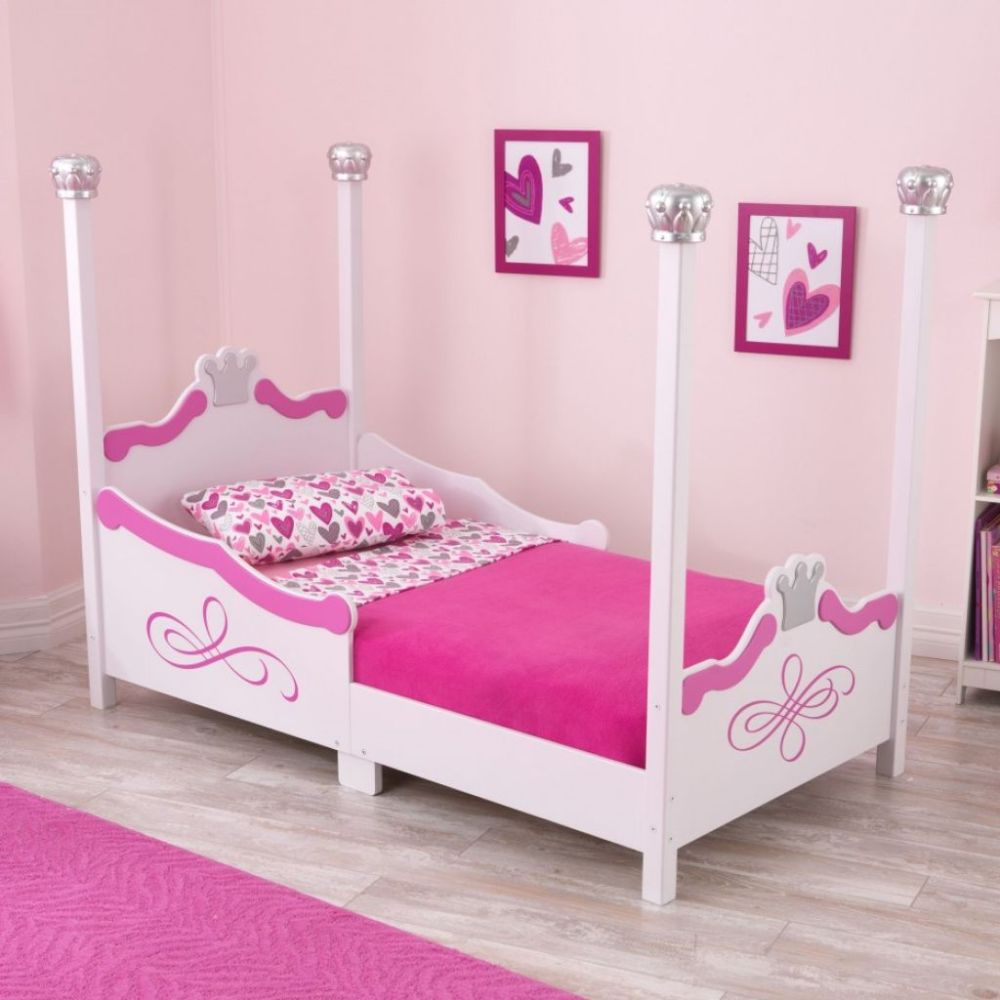 Toddler Bed Wood White