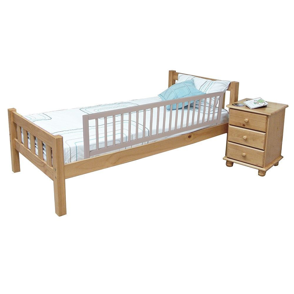 Toddler Bed Wooden Guard Rail