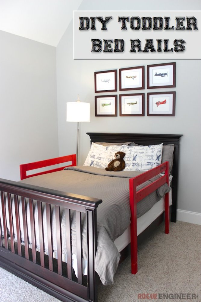 Toddler Bed Wooden Slats