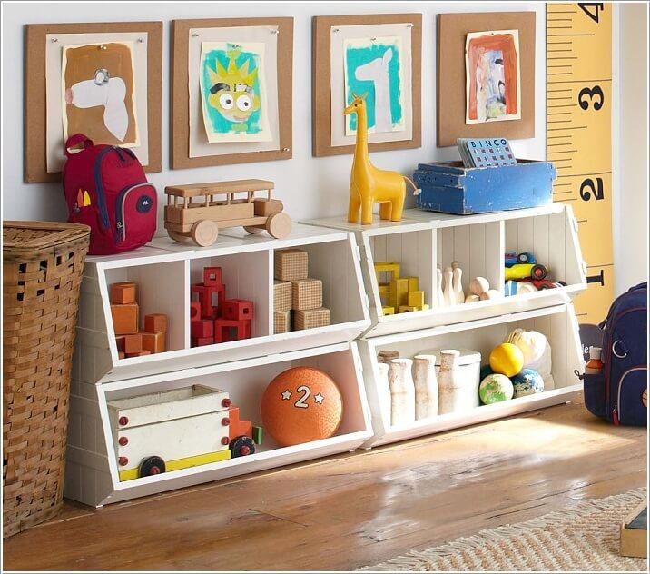 Toddler Bedroom Storage