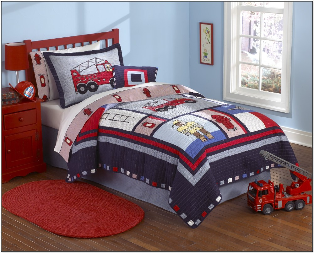 Toddler Boy Bedding